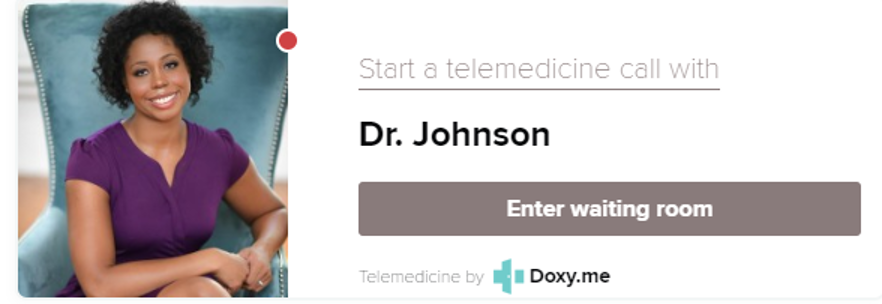 Dr Johnson Telemedicine Badge