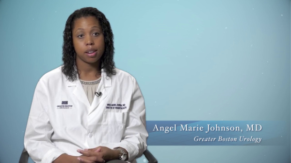 Dr. Angel Marie Johnson discusses her background and  specialty, Urogynecology 600x338